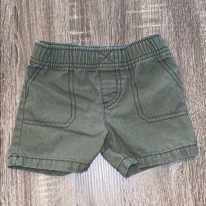 4/$10 Carter's kids shorts size 9 months